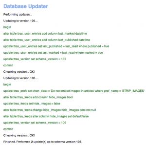 Update process
