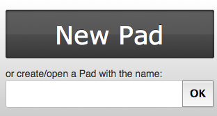 Create new PAD