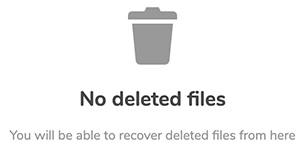 nextcloud empty trash